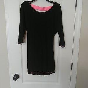 Black Victoria's Secret backless summer dress